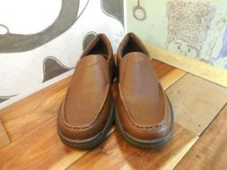 brown leather loafers men s euro 44
