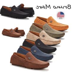 Bruno Marc Men Driving Loafers Dress Shoes Casual Slip On Fl