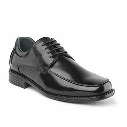 Bruno Marc Mens Leather Shoes Formal Lace-up Square Toe Busi