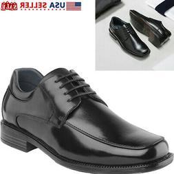 Bruno Marc Mens Oxfords Shoes Square Toe Lace up Classic Dre