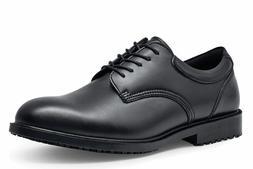Shoes for Crews Cambridge Men's Slip Resistant Plain Toe Lea