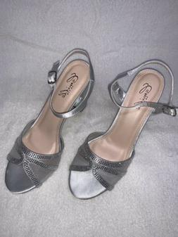 Camille La Vie Rose Gold Silver Shoes