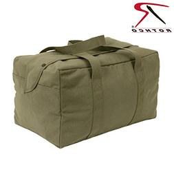 Rothco Canvas Small Parachute Cargo Bag, Olive Drab