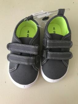 Carter's Boy's Toddler Grey dress shoes Size 8 New