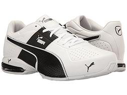 PUMA Men's Cell Surin 2.0 FM Sneaker, White-Black, 9.5 M US
