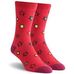 Christmas Holiday Casual Socks, SUTTOS Men's Colorful Socks