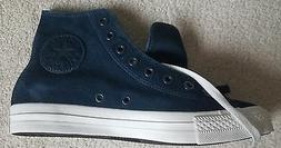 Converse - Chuck Taylor - Leather Dress Blues  New