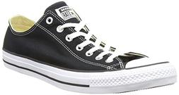 Converse Chuck Taylor All Star Lo Canvas Sneaker,Black,size