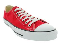 Converse Unisex Chuck Taylor All Star Low Top Red Sneakers -