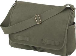 Rothco Classic Messenger Bag Olive
