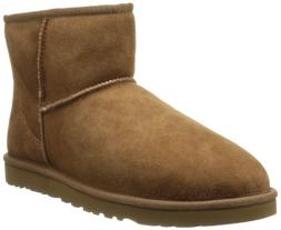 Ugg Men's Classic Mini Winter Boot, Chestnut, 9 US/9 M US