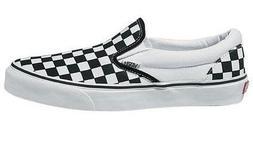 Vans Unisex Classic Checkerboard Black/White Checker/White S