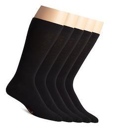 Dockers Men's Classics Dress Flat Knit Crew Socks Multipacks