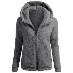 Clearance Sales Sweater Jacket Winter Warm Zipper Coat Outwe