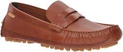 Cole Haan Men's Coburn Penny Driver II Loafer, British tan T