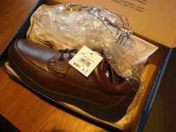 Nunn Bush Comfort Gel Mens WIDE Shoes Brown Mack MT Oxford N