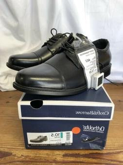 Croft & Barrow Craven Mens Black Ortholite Oxford Dress Shoe
