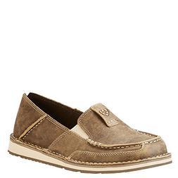Ariat Women's Women's Cruiser Slip-on Shoe Sneaker, Brown Bo