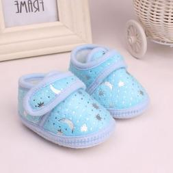 Cute Infant Newborn Toddler Non-Slip Girls Boys Shoes 3 Colo