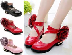 Cute Kids Girls Dress Shoes Children Princess Shoes Fashion