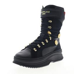 Puma Deva Boot X Balmain Paris 37217801 Womens Black Casual