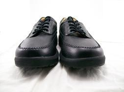 DR. COMFORT STALLION MEN'S DRESS SHOE BLACK SIZE 14 WIDE