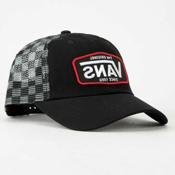 VANS Drop V Patch Trucker hat cap Snapback logo checkered me