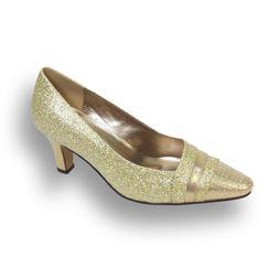👠 FLORAL Effle Women Wide Width Evening Dress Shoe for We