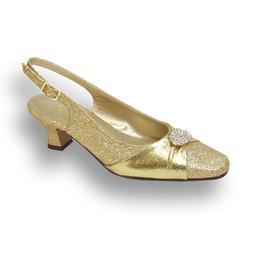 👠 FLORAL Elaine Women Wide Width Evening Dress Shoe for W