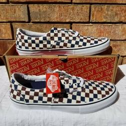 Vans Era Pro Multi-Checkerboard Dress Blu Men's Shoes Sz 1