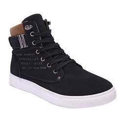Feitengtd Fashion Mens Oxfords Casual High Top Shoes Shoes S
