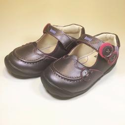 Umi 'Fion' Purple Leather Mary-Jane School/Dress Shoe for To