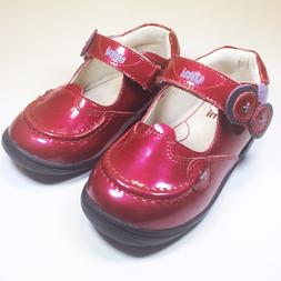 Umi 'Fion' Red Pat.Leather Mary-Jane School/Dress Shoe for T
