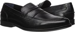 Cole Haan Men's Fleming Penny Loafer, Black, 10 Medium US