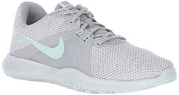 Nike Women's Flex Trainer 8 Cross, Wolf Grey/Igloo/White/Pur