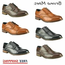 Bruno Marc Kids Oxford Shoes Boys Faux Leather Shoes Wedding