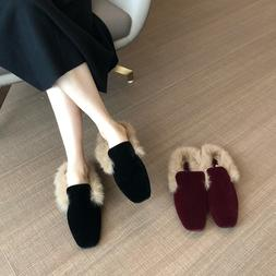 <font><b>Shoes</b></font> Woman 2019 Round Toe Slip-on <font