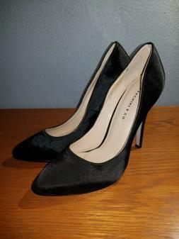 Franchini & Co. Women's Dress Shoes Pumps Satin Black Size 5