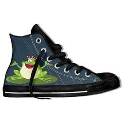 BEYOUR Frog Cute High Top Classic Unisex Casual Fashion High