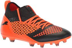 PUMA Men's Future 2.3 Netfit FG/AG Soccer Shoe, Black-Shocki
