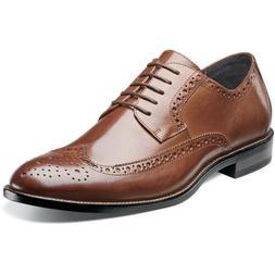 Stacy Adams Men's Garrison Wing Tip Oxford Shoes  - 10.5 M