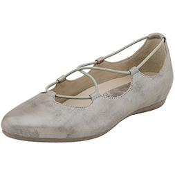 Women's Earthies 'Essen' Ghillie Flat, Size 7 M - Grey