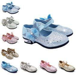 Girl Princess Flats Bow Shoes for Toddler Baby Children Kids