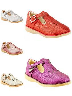 Girl's Party Dress Classic Shoes T-strap Close Mary Jane Tod