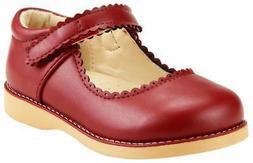 Girl's School Dress Classic Shoes Burgundy, Pink, Black Mary