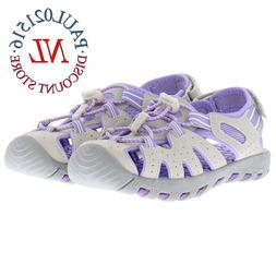 Khombu Girls Kids Closed Toe Sport Sandal Shoes ~ Various Si