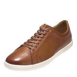 Cole Haan Men's Grand Crosscourt II Sneaker, tan Leather Bur