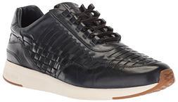 Cole Haan Men's Grandpro Runner Huarache Sneaker, Navy Woven