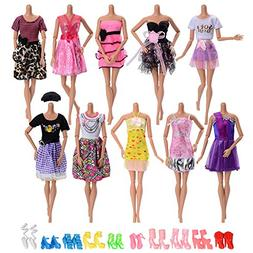 10 pack Handmade Fashion Daily Causal Wear Clothes Outfits B