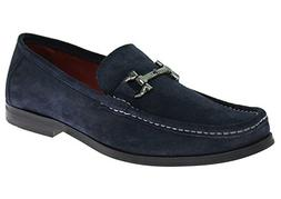 Natazzi Mens Handmade Suede Leather Shoes Lucca Slip-On Loaf